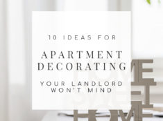 Feel held back by your rental's decorating restrictions? Here's how you can decorate your rental space with landlord-friendly apartment decorating ideas. | TheCasaCollective.com | #apartmentdecorating #landlordfriendlydecorating #rentaldecorating #decoratingrental #decoratingapartment