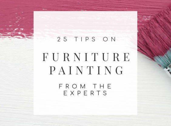 25 Furniture Painting Tips From the Experts
