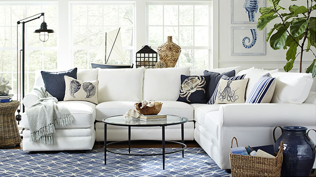 12 Designer Tips for Choosing a Sofa | Need help choosing a sofa? Check out these decorating ideas and tips from top designers on what you need to know about sofas before you go shopping. | thecasacollective.com | #choosingasofa #interiordesign #livingrooms #sofa #furniture #designertips #decoratingtips #livingroomdecor