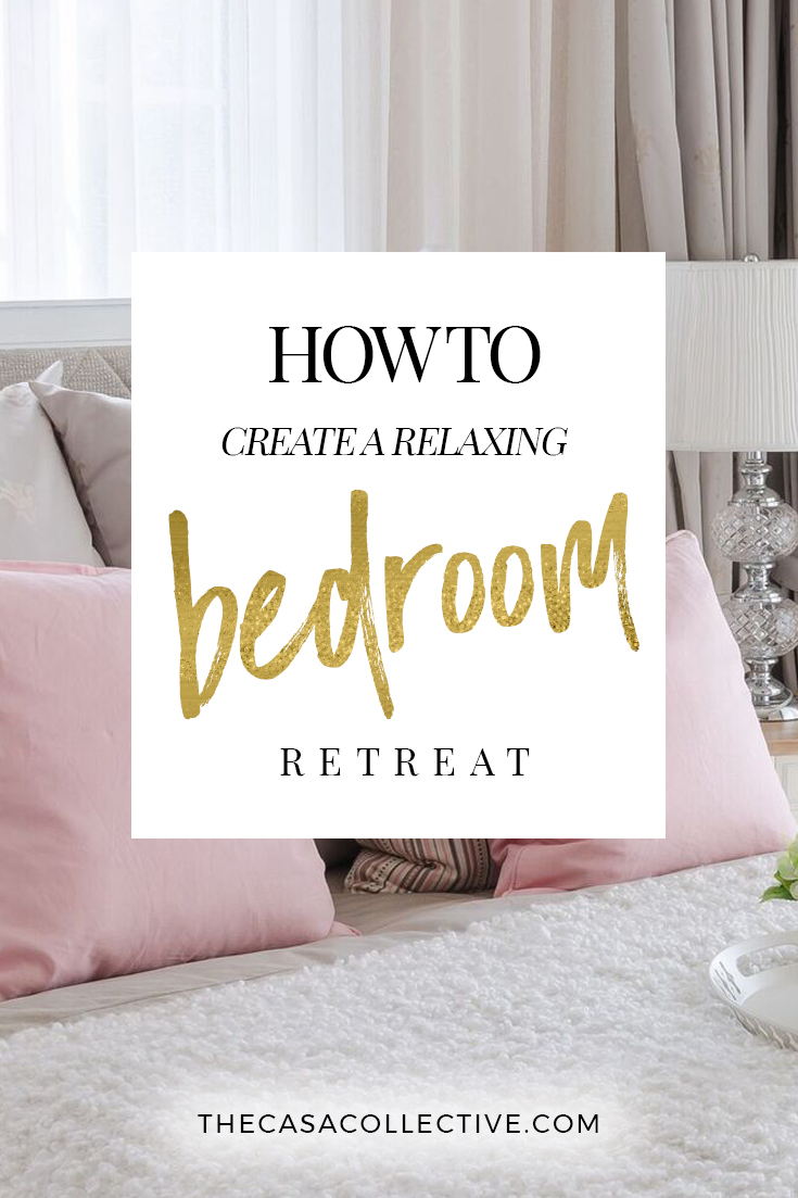 Master Bedroom Ideas: Tips for Creating a Relaxing Retreat   Is your bedroom everything you dreamed it would be? These master bedroom ideas and tips will help you create the relaxing retreat you've always wanted.   TheCasaCollective.com   #masterbedroomideas #masterbedroomdecorating #masterbedroomretreat
