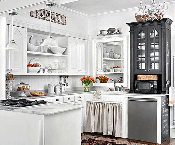 Open Kitchen Cabinet Decorating Ideas: 10 Stylish Ideas For Decorating Above Kitchen Cabinets