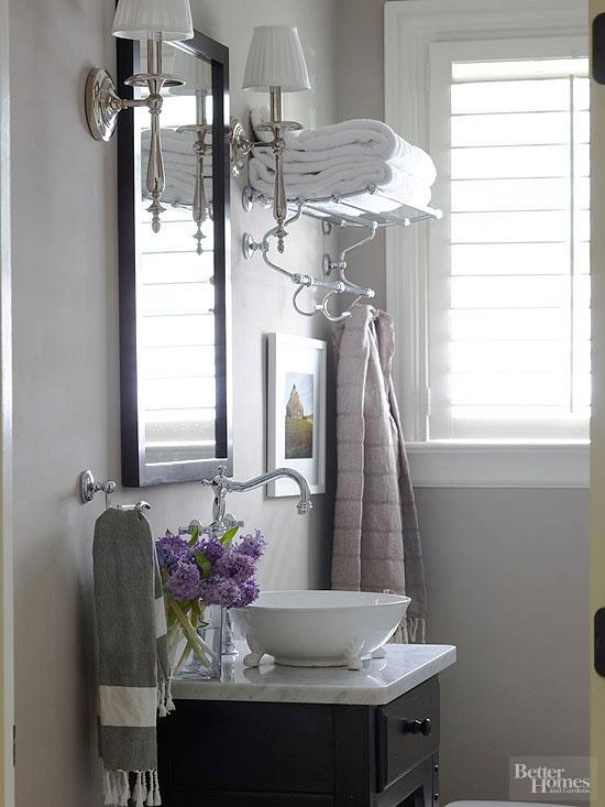 7 Creative Ideas For Bathroom Towel Storage: Bathroom Towel Storage: 12 Quick, Creative & Inexpensive Ideas