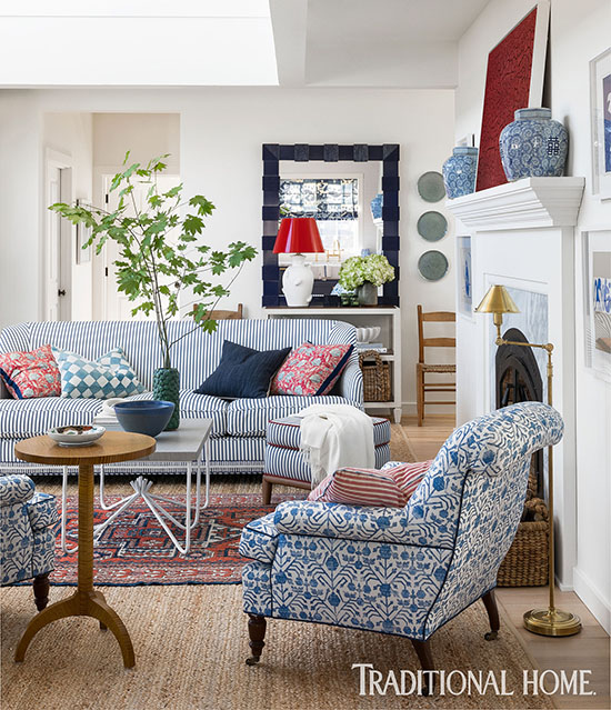 Red White And Blue Rooms How To Make Them Look Chic