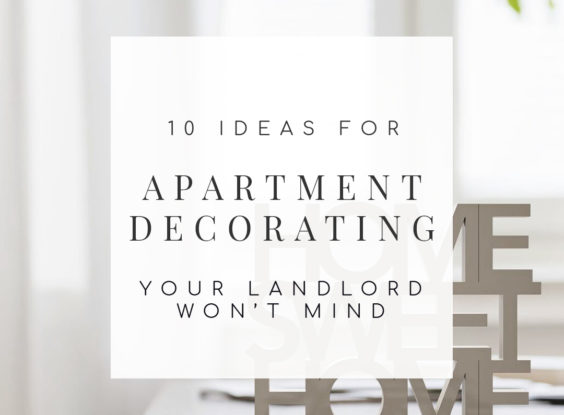 10 Landlord-Friendly Apartment Decorating Ideas