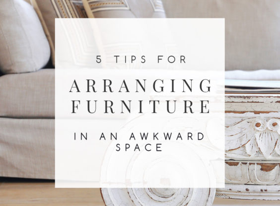 5 Furniture Arrangement Tips to Fix an Awkward Space | Furniture placement sets the tone for a room. These 5 simple furniture arrangement tips make it easy for you create a space that looks and feels welcoming. | TheCasaCollective.com | #furniturearrangement #furniturearranging #furniturelayout #furnitureplan #furniture #spaceplanning