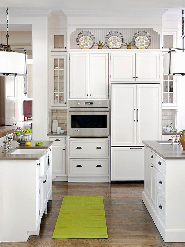 White Kitchen Decorating Ideas Photos Part - 23: 10 Ideas For Decorating Above Kitchen Cabinets | Not Sure What To Do With  That Awkward