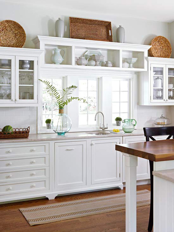 Awesome 10 Ideas For Decorating Above Kitchen Cabinets | Not Sure What To Do With  That Awkward
