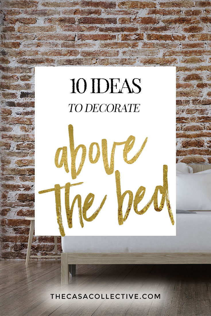 10 ideas to decorate above your bed that you can do today. Black Bedroom Furniture Sets. Home Design Ideas