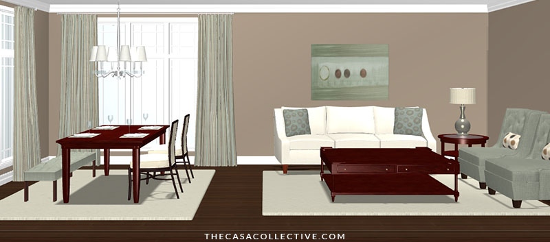 5 ways to coordinate area rugs in an open floor plan - Decorating with area rugs ...