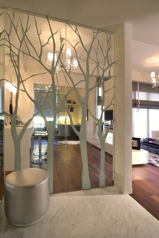 7 Stylish Ways To Work With A Mirrored Wall Make It Look Fabulous