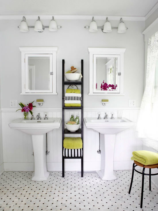 most bathrooms no matter if theyre large or small can benefit from - Bathroom Towel Storage