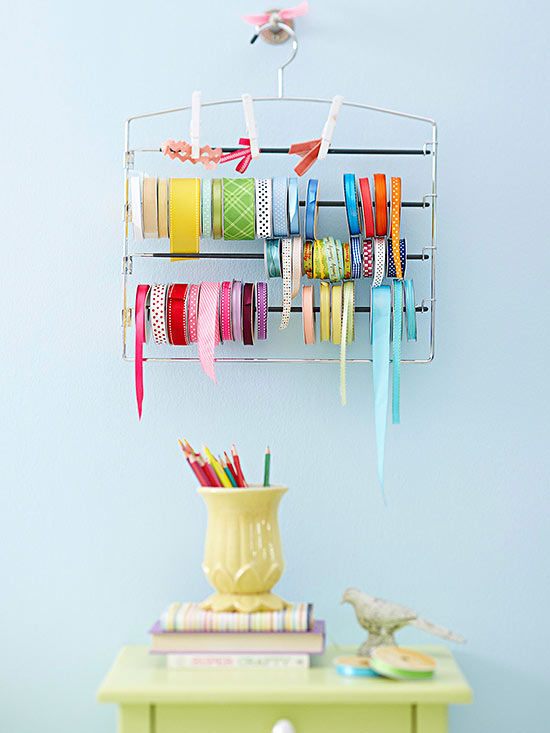 You'll find crafting is even more fun when you have a place for everything. These creative craft storage ideas will help you get your crafting supplies organized and at your fingertips. This will save you time, so you can focus on the creative part of crafting. | TheCasaCollective.com | #craftstorage #storingcraftsupplies #sewingstorage #giftwrapstorage #hobbystorage