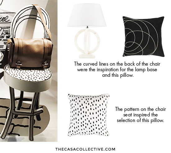 When decorating inspiration is a picture of a room, it's fairly easy to pick out what you like and bring it to your space. But what if your inspiration is something more abstract and not a room at all? I share my process and walk you through step-by-step to explain why I chose each piece for the room. | TheCasaCollective.com | #decoratinginspiration #roomdesign #interiordesign #interiordecorating