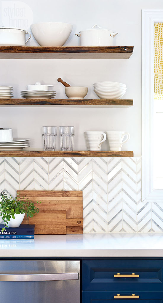 Open Kitchen Shelving How To Add Style And Keep It Organized