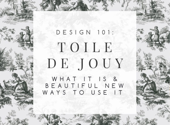 Toile de Jouy: What Is It And How Do You Really Pronounce It?