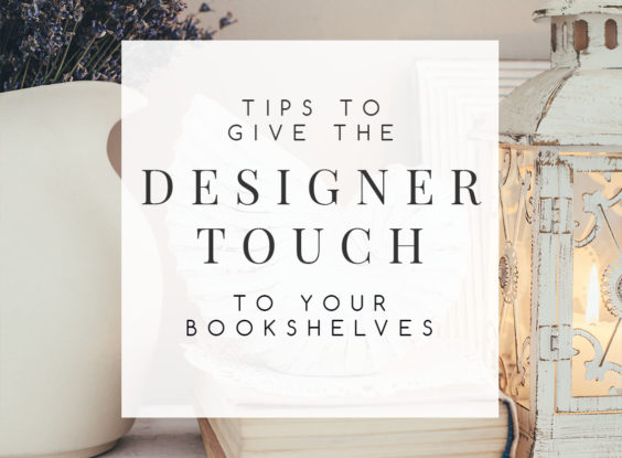Do you have trouble when it comes to styling bookshelves? Arranging books and decorative items on bookshelves is a lot easier if you know a few tricks of the trade. Here are 10 tips to help you make your bookshelves look amazing. | #decoratingbookshelves #bookstyling #stylingbookshelves #interiordesignideas #interiordecorating #interiordesign #decoratingblog #decoratingblogger #affiliatelink