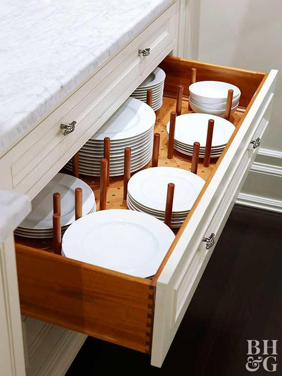 It's much easier and more fun to get things done in a space that is neat and organized. And that includes the kitchen. These 12 simple and affordable kitchen storage ideas will help you find a place for everything and keep it all organized in style. | #kitchenstorageideas #kitchenstorage #kitchenorganization #organizingtips #interiordecorating #interiordesign #decoratingblog #affiliatelink