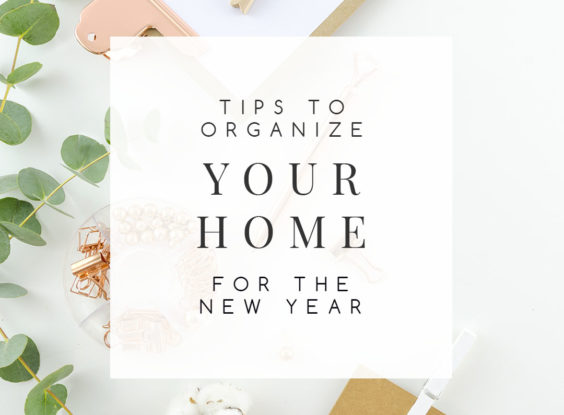 Room-by-Room Tips to Organize Your Home for the New Year