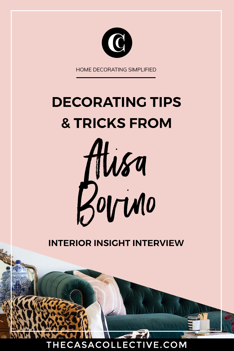 Get insight into thrifting, decorating on a budget, and creating a glamorous interior with the talented blogger behind A Glass of Bovino. | TheCasaCollective.com | #decoratingonabudget #thriftstoredecorating #budgetdecorating #interiordecorating #interiordesign #decoratingblog #interiordesignblog #interiordecoratingblog