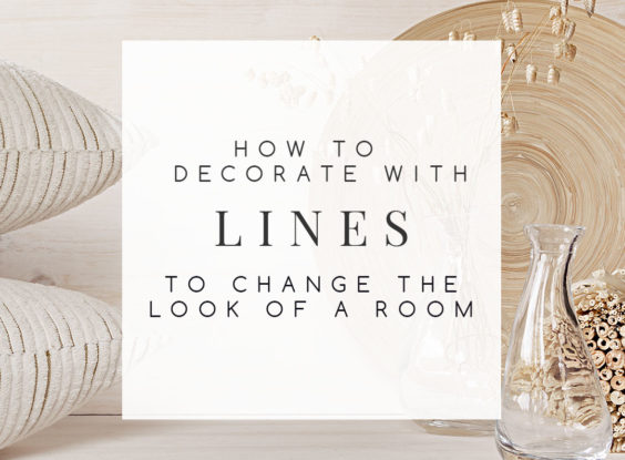 Lines are some of the most transformative elements in design. Find out how decorating with lines can help you solve some of the biggest issues in your home and create the look you desire with some simple changes. | TheCasaCollective.com | #decoratingwithlines #principlesofdesignlines #creatinglines #interiordecorating #interiordesign #interiordesignblog #decoratingblog #affiliatelink