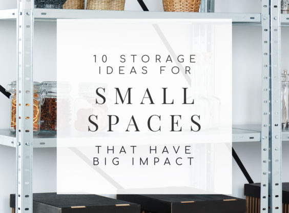 Need more storage in your small space? Try these 10 simple but effective small space storage ideas that are both stylish and functional. | TheCasaCollective.com | #smallspacestorage #smallspaceorganization #smallspaces #storage #interiordecorating #interiordesign #decoratingblog #affiliatelink